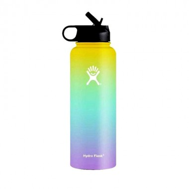 Hydro flask color yellow blue purple 32oz 40oz vsco bottle